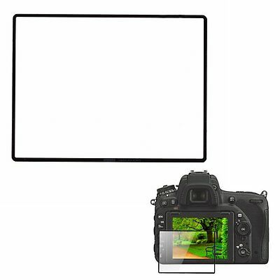 LARMOR GGS Self-Adhesive Optical Glass LCD Screen Protector for Nikon D750 camer