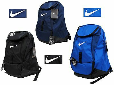 Nike Backpack Rucksack School Gym Tranning Football Club Team Swoosh