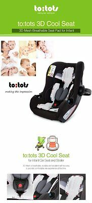 to:tots 3D-Mesh Cool Seat for Infant Car Seat & Stroller
