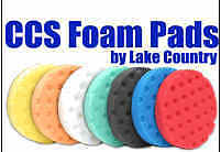 "Lake Country 6.5"" CCS Buffing Pads 3-Pack Your Choice!"