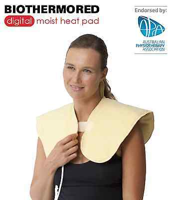 Biothermored Moist Heating Pad / Neck+ Shoulder / FREE POST * MEDICAL GRADE 960S