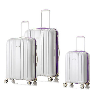 3PCS Luggage set 4 Spinner wheels Trolley Suitcase TSA Lock Travel Carry on Bag