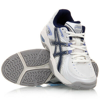 Asics Gel Netburner 13 Junior Netball Shoe (B) (0157)