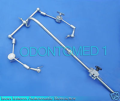 IRON INTERN AUTOMATIC RETRACTOR HOLDER Surgical Instruments