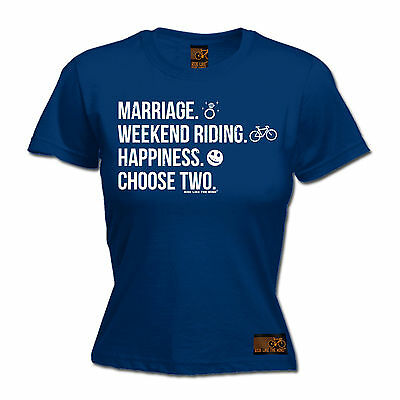 Marriage Weekend Riding Happiness WOMENS T-SHIRT cycling jersey mothers day gift