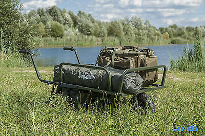 XXL Carp Angel Trolley Karpfen Transportwagen Transportkarre Barrow Tacklekarre