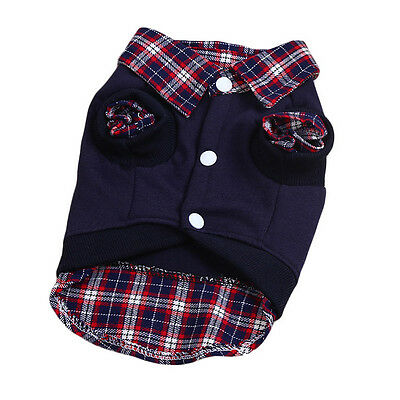 Dog Sweater Coat Clothes Pet Puppy Warm Winter Knitwear Costume Cotton Jumper