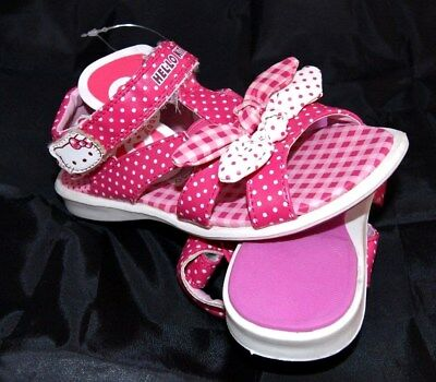 PAIRE SANDALE CHAUSSURE ETE HELLO KITTY ROSE FILLE ENFANT 20 - 21 FR /4 UK neuf