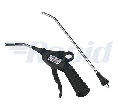 Sealey SA914 Air Blow Gun with Safety Nozzle and 2 Extensions