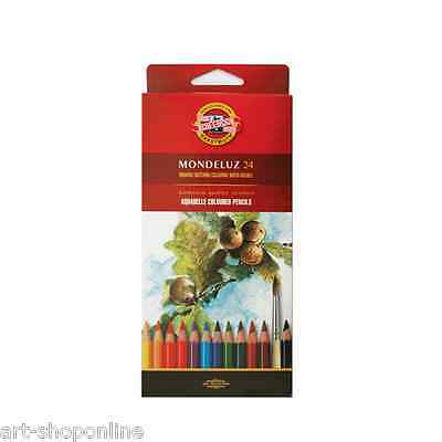 Mondeluz Set of 24 Sketching Water Soluble Coloured Pencils