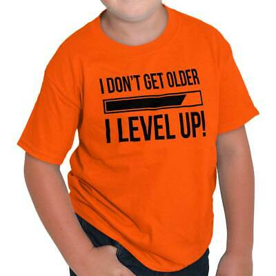 dbe3ff43 Dont Get Older Level Up Funny Shirt PC Gamer Gaming Gift Cool Youth Tee  Shirt T