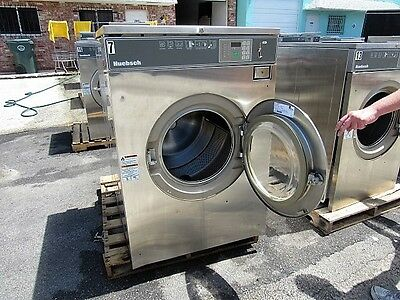 60lb Washer Huebsch Coin Operated from Laundromat Running.