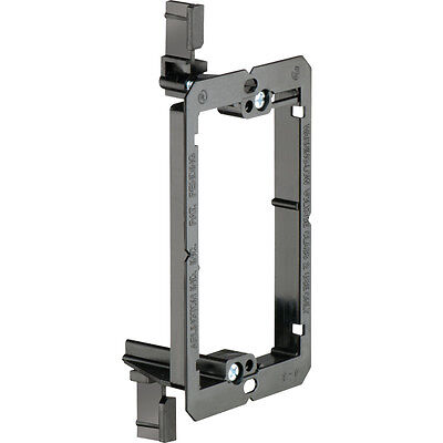 Single Gang Low Voltage Wall Plate Mounting Bracket Drywall Retrofit Old Work