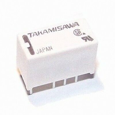 Miniature PCB DPDT 5V 2A Relay (4.5V nominal)