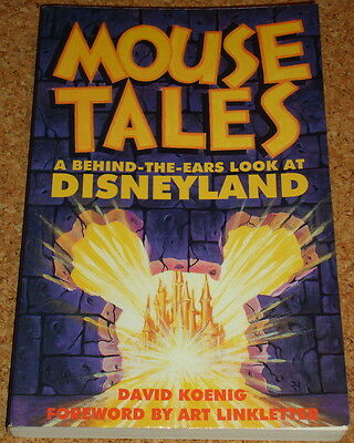 MOUSE TALES - David Koenig - Disneyland - 1995 softback book