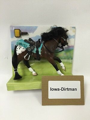Grand Champions Classic Appaloosa Horse Play Set 26020 Production Sample Used