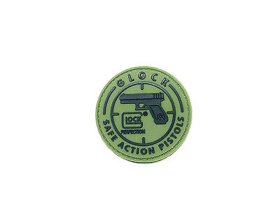 Patch PVC Glock Airsoft