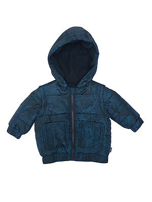 Fred Bare Boys Baby Animal Puffer Jacket With Lined Body And Hood