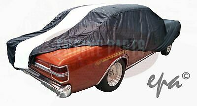 Show Car Cover Racing Stripes Black Indoor Ford Falcon Xr Xt Xw Xy Gt Gtho
