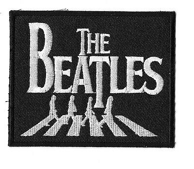 """New The Beatles 'Abby Road"""" 3 X 4  """" Inch Iron on patch Free Shipping"""