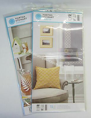 New Martha Stewart Crafts - Extra Large Stencil Stencils - Select Your Style