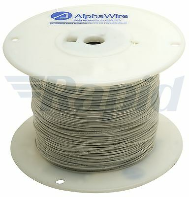 Alpha Wire 3051 WH001 UL1007 Hook Up Wire White 22AWG (305m Reel)