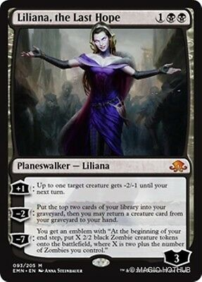 LILIANA, THE LAST HOPE Eldritch Moon MTG Black Planeswalker Mythic Rare