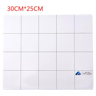 30cm*25cm Screw Magnetic Project Silicone Pad Mat Repair Tool for iPhone Samsung