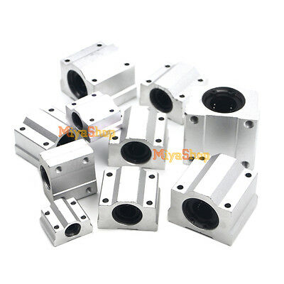 SC6UU-SC40UU Aluminum Linear Motion Ball Bearing Machinery Slide Bushing CNC New