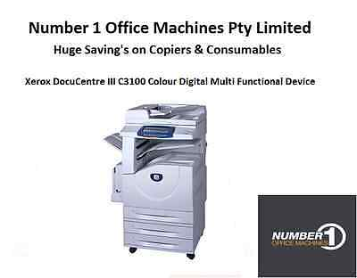 Xerox DocuCentre III C3100 Colour Digital Copier, Network Print/Scan, Fax, email