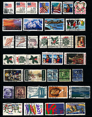 G433  Usa Collection Of 38 Used Stamps