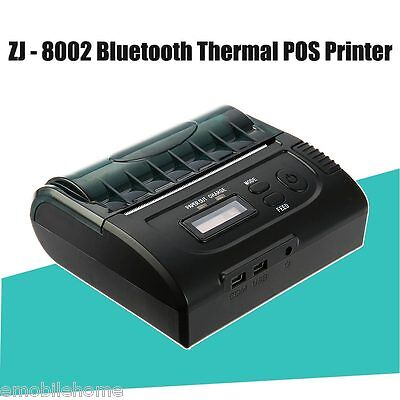 ZJ - 8002 80mm Bluetooth 2.0 Android POS Receipt Thermal Printer for Supermarket