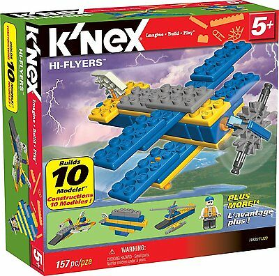 K'Nex Hallo Flyers 10 Modell-Set