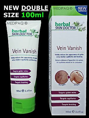 MEDIPAQ™ Vein Vanish - Herbal Skin Doctor Varicose Spider Capillaries Bruising