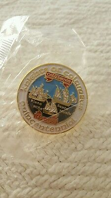 Knights of Columbus K Of C Quincentennial Pin 1992 New