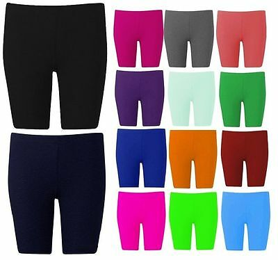 New Womens Cycling Shorts Dancing Shorts Plus Size Cotton Lycra Leggings 8-24
