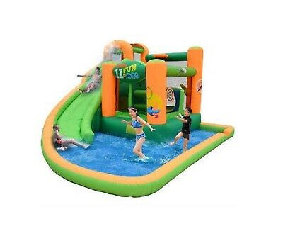 Bounce House Water Slide Inflatable Pool Commercial Bouncer Kids Outdoor Jumper