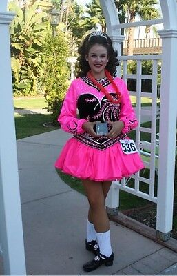 Stunning Irish dance solo dress