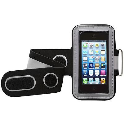 Unisex Sports Armband for all Smartphones, iPod/MP3 Players-Black/Grey By Groove