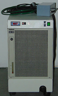 Haake UWK-45 UWK45 003-0243 Recirculator Chiller with Bruker Micro 2.5