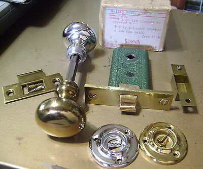 Vintage Russwin Passage Latch set