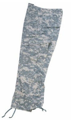 US ACU at Digital Field Pants Army UCP Camoflauge Rip Stop Trousers XXL