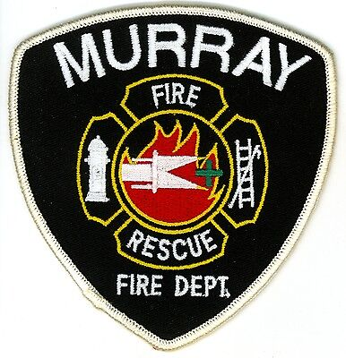 Vintage Murray Township Fire Department Uniform Patch Ontario ON Canada