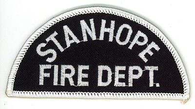 Vintage Stanhope Fire Department Uniform Patch Ontario ON Canada