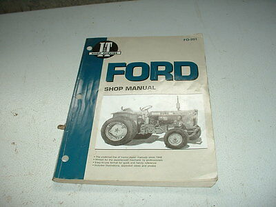 Ford Tractor FO 201 Manual