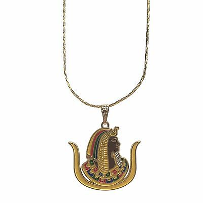 """F180 OES Duaghter of ISIS 1"""" Shield Pendant with Chain"""