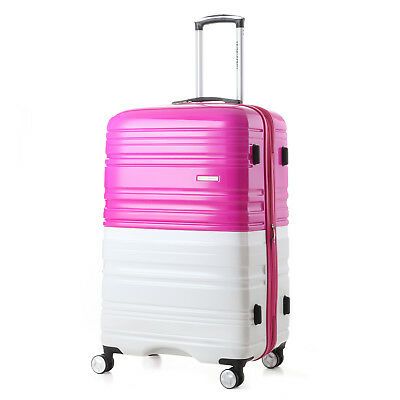"24"" Luggage Spinner Wheels Trolley Suitcase TSA Lock Travel Bag Light Weight"