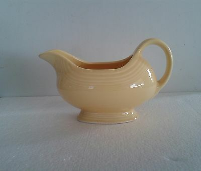 Lovely vintage Fiesta Ware Homer Laughlin original color yellow Gravy Boat.