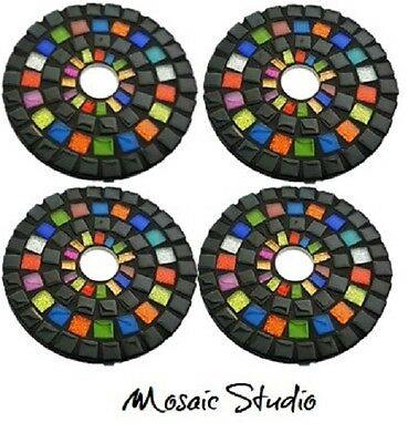Mosaic Round Coasters Rainbow Ritz- Kit-Set