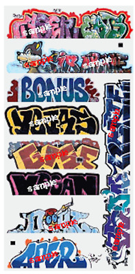 Blair Line 1262 Graffiti Decals – Mega Set #13 – N Scale